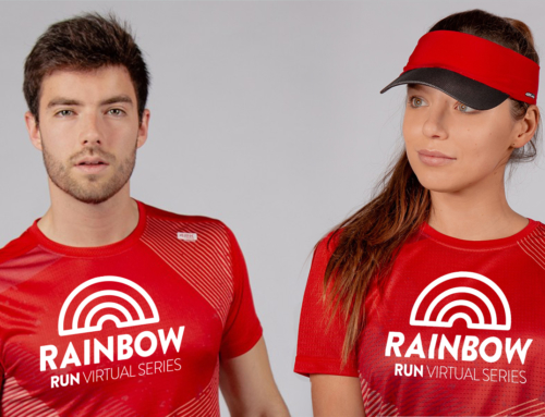 Corre la Blue Run y consigue la camiseta #Rainbowvirtualseries🌈